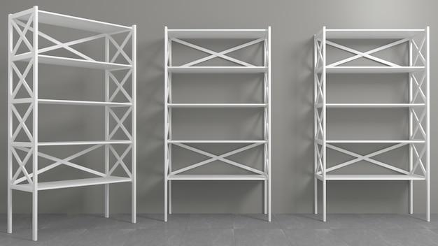 Rack con estantes vitrina o armario