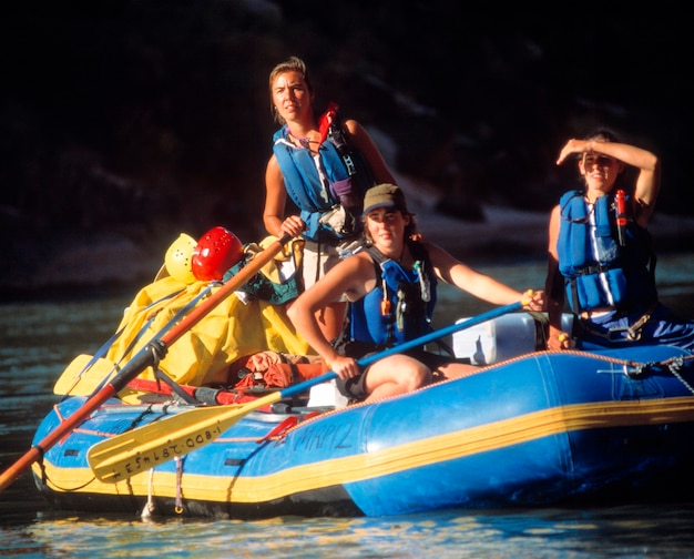 Rafting en el gran cañón