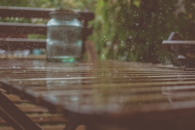 Rain antecedentes