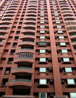 Rascacielos edificio de apartamentos