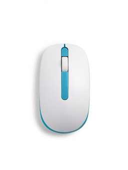 Ratón de la computadora aislado