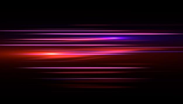 Rayo de luz efecto rápido. velocidad de fondo abstracto.