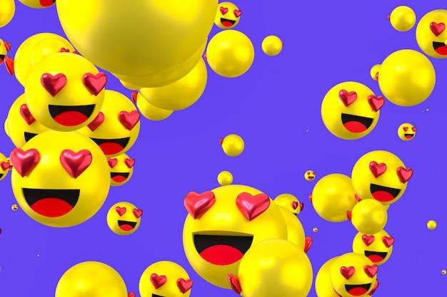 Reacciones emoji de facebook
