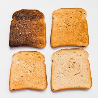 Rebanada de pan tostado