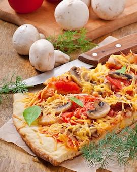 Rebanadas de pizza