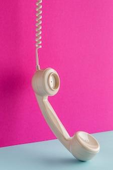 Receptor de teléfono con cable