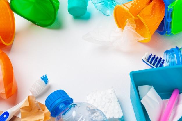 Reciclar, día mundial del medio ambiente y concepto ecológico