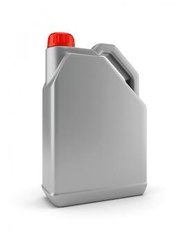 Recipiente de plástico para aceite de motor