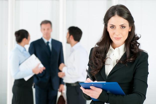 Reclutamiento de entrevista de trabajo