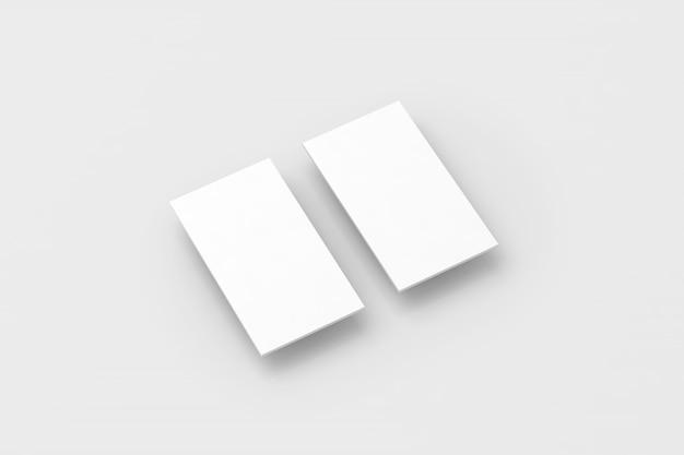 Rectángulos blancos en blanco para el diseño de la aplicación de visualización del teléfono