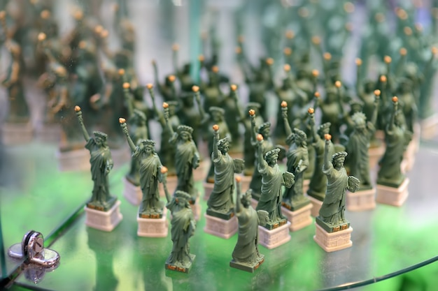 Recuerdos de la estatua de la libertad