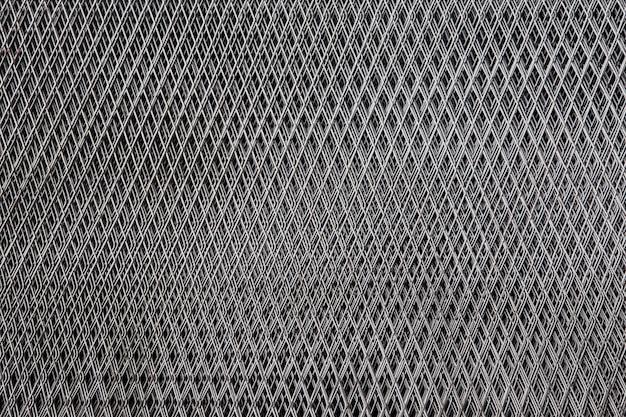 Red de acero para el fondo de la textura