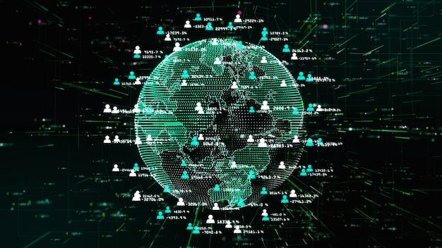 Red de tecnología para la comercialización de información holográfica de internet