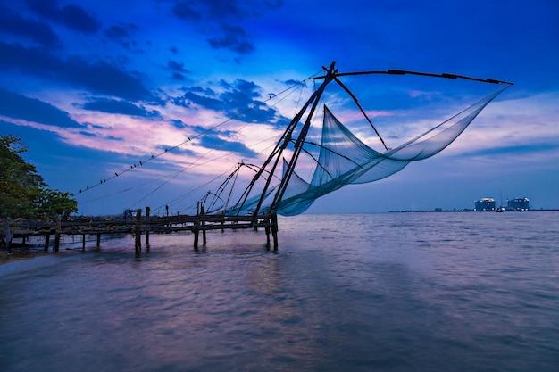 Red de pesca china