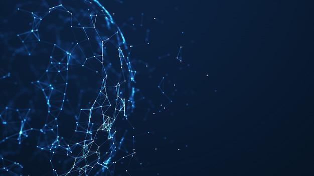Red de tecnología abstracta