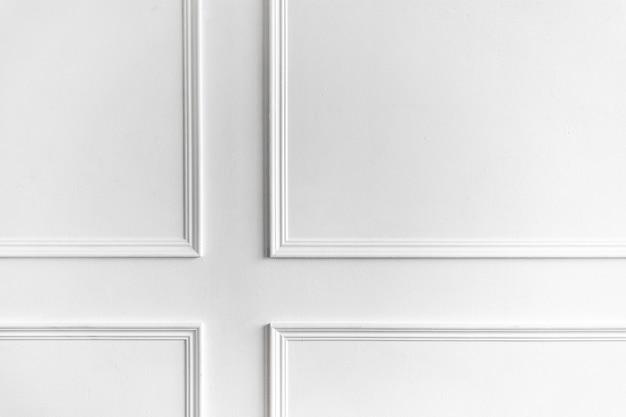 Redecoración en apartamento con molduras de pared