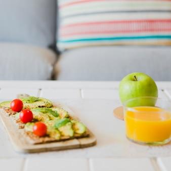 Refrigerios saludables para el almuerzo
