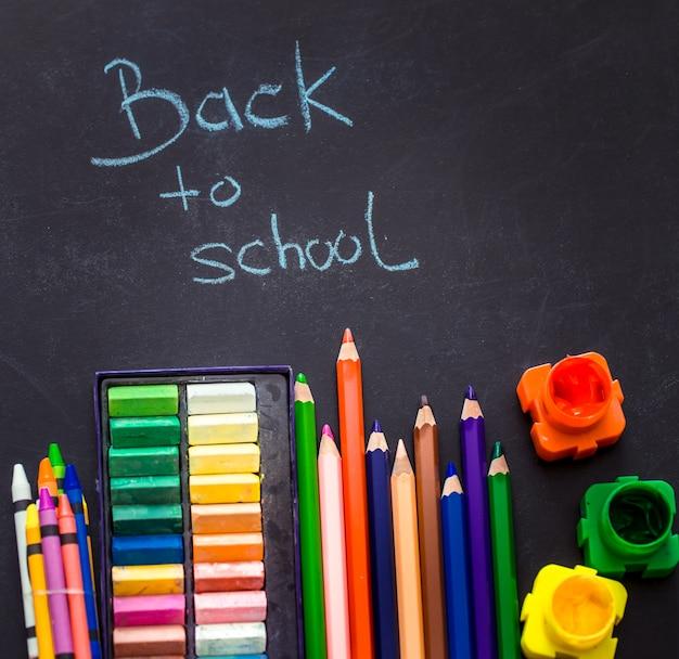 Regreso a la escuela, útiles escolares