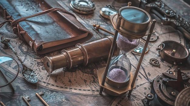 Reloj de arena vintage