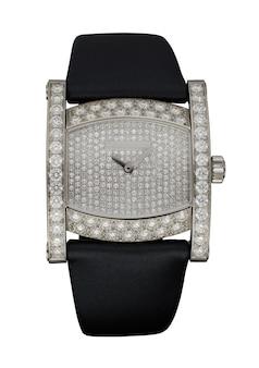 Reloj femenino aislado en blanco
