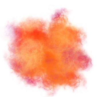 Render de fondo colorido de acuarela
