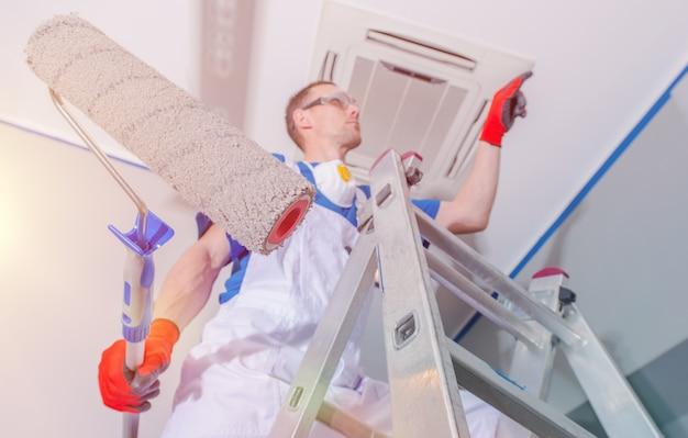 Renovación de la pintura interior