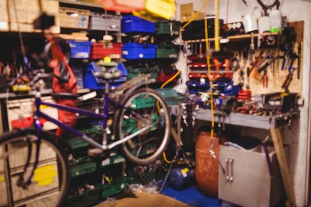 La reparación de herramientas y equipos