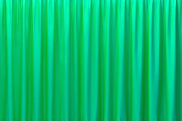 Representación 3d de la arquitectura de onda de pared abstracta