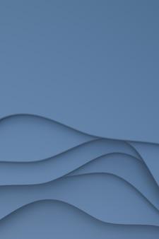Representación 3d, diseño abstracto del fondo del arte del corte del papel gris para la plantilla del cartel, fondo gris, fondo abstracto del modelo