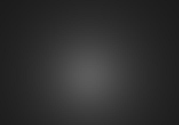 Representación 3d de fondo abstracto negro vacío