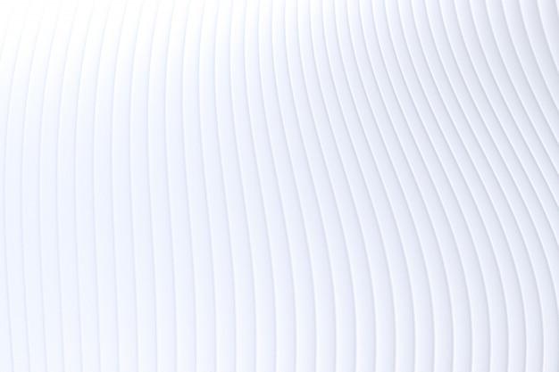 Representación 3d, fondo de arquitectura abstracta de onda de pared blanca, fondo blanco para presentación, cartera, sitio web