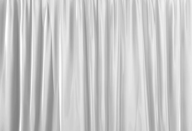 Representación 3d. fondo de diseño de muro cortina azul oscuro de lujo vertical.