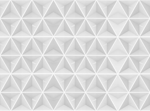 Representación 3d fondo de textura de pared de azulejo de forma hexagonal gris moderno transparente.