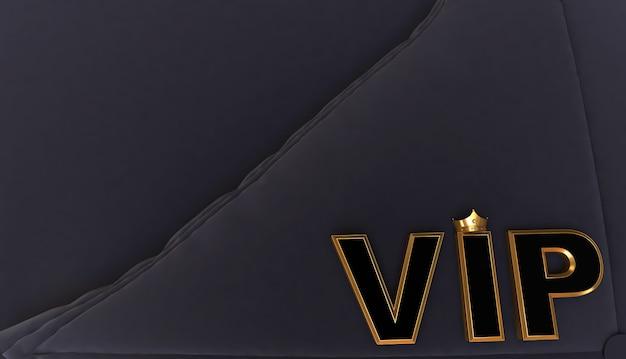 Representación 3d de golden vip crown, royal gold vip crown on pillow, crown vip