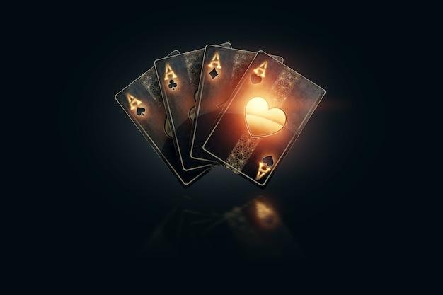 Representación 3d de juegos de azar en línea