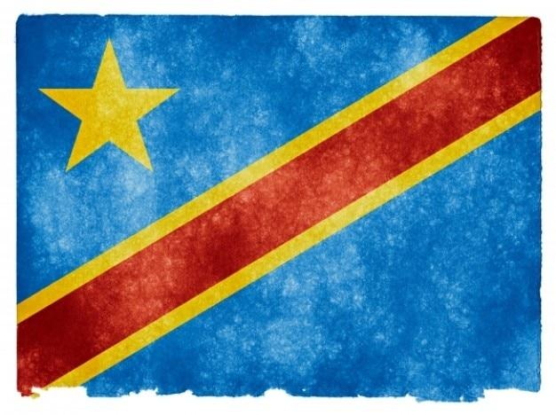 República democrática del congo, la bandera del grunge