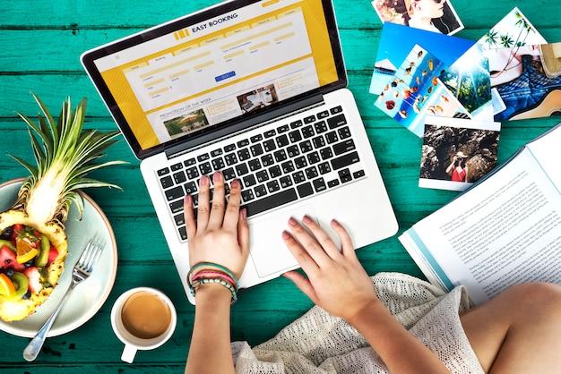Reserva de hotel online