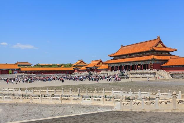 Residencia de los emperadores de las dinastías ming y qing