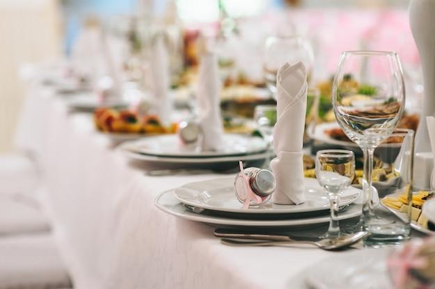 Restaurante antes de la boda
