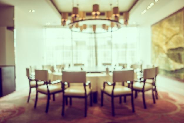 Restaurante borroso abstracto