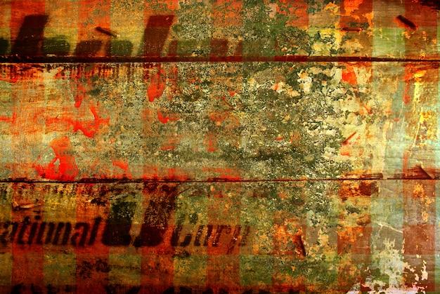 Resumen de la antigua muralla de grunge para el espacio