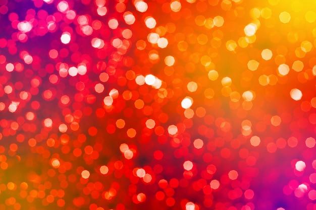 Resumen con bokeh borrosa. celebración y concepto festivo. enfoque selectivo