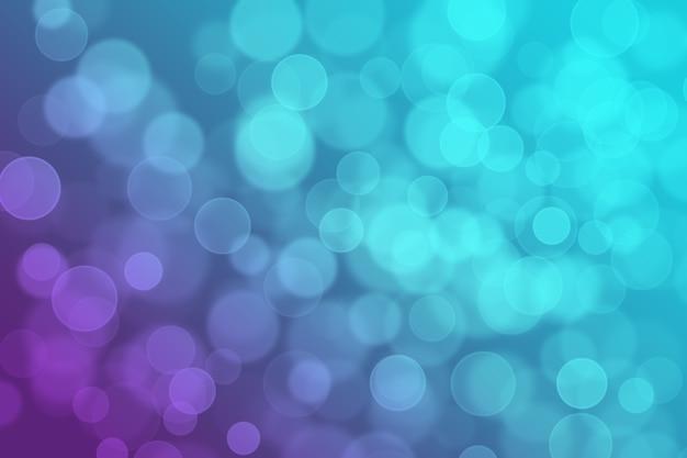 Resumen bokeh fondo degradado de color brillante púrpura y azul