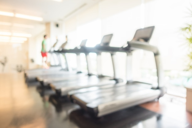 Resumen borroso gimnasio y fitness