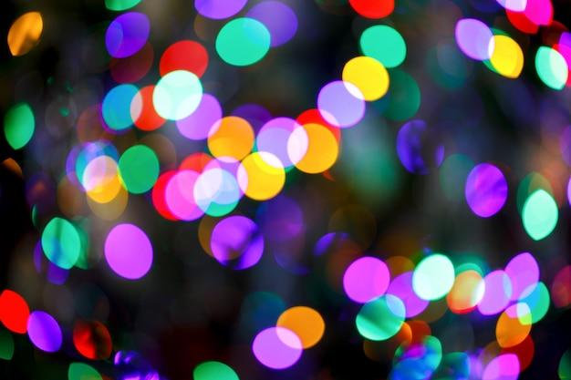 Resumen brillante borrosa de color