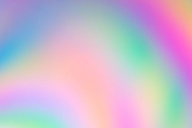 Resumen colorido borroso en plástico con luz polarizada