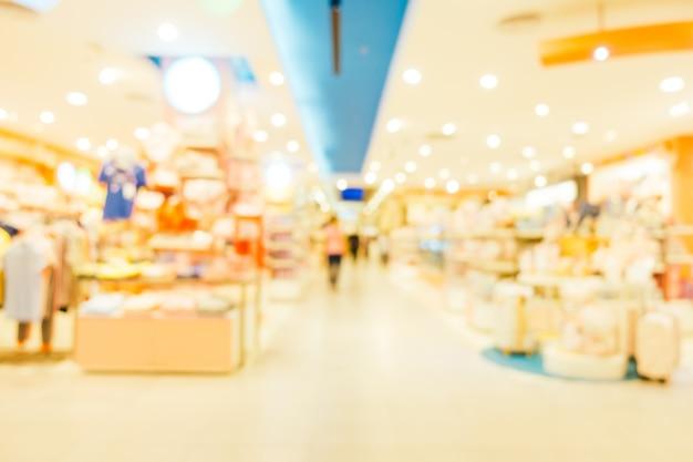 Resumen desenfoque y defocused centro comercial centro comercial de los grandes almacenes
