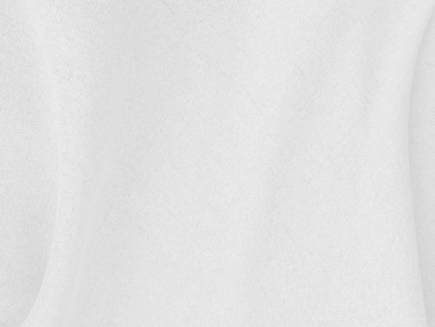 Resumen de fondo de ropa blanca con ondas suaves.