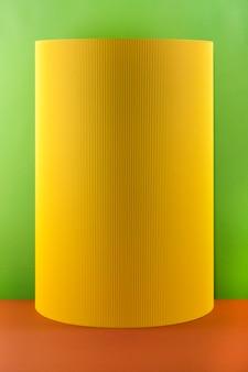 Resumen hojas de papel de colores