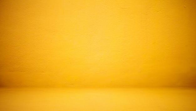 Resumen de lujo de color amarillo claro bien uso de pared como telón de fondo, fondo y diseño.
